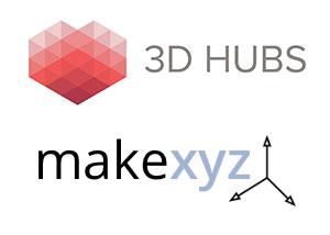 Makexyz 3d hubs 3d printing