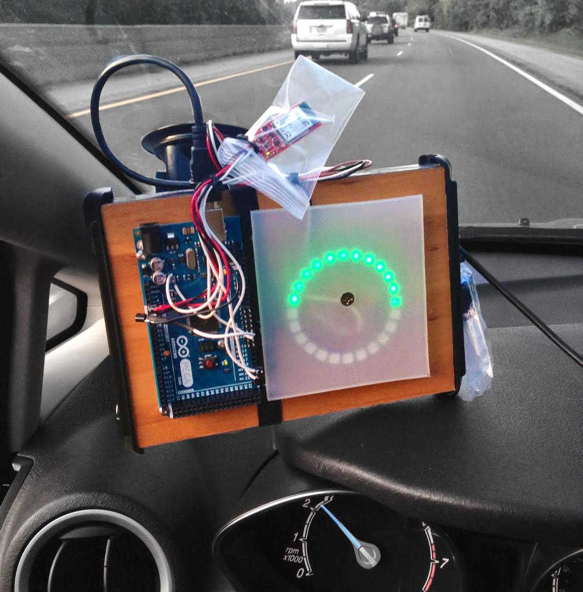 OpenXC tachometer w:o 3D printed enclosure