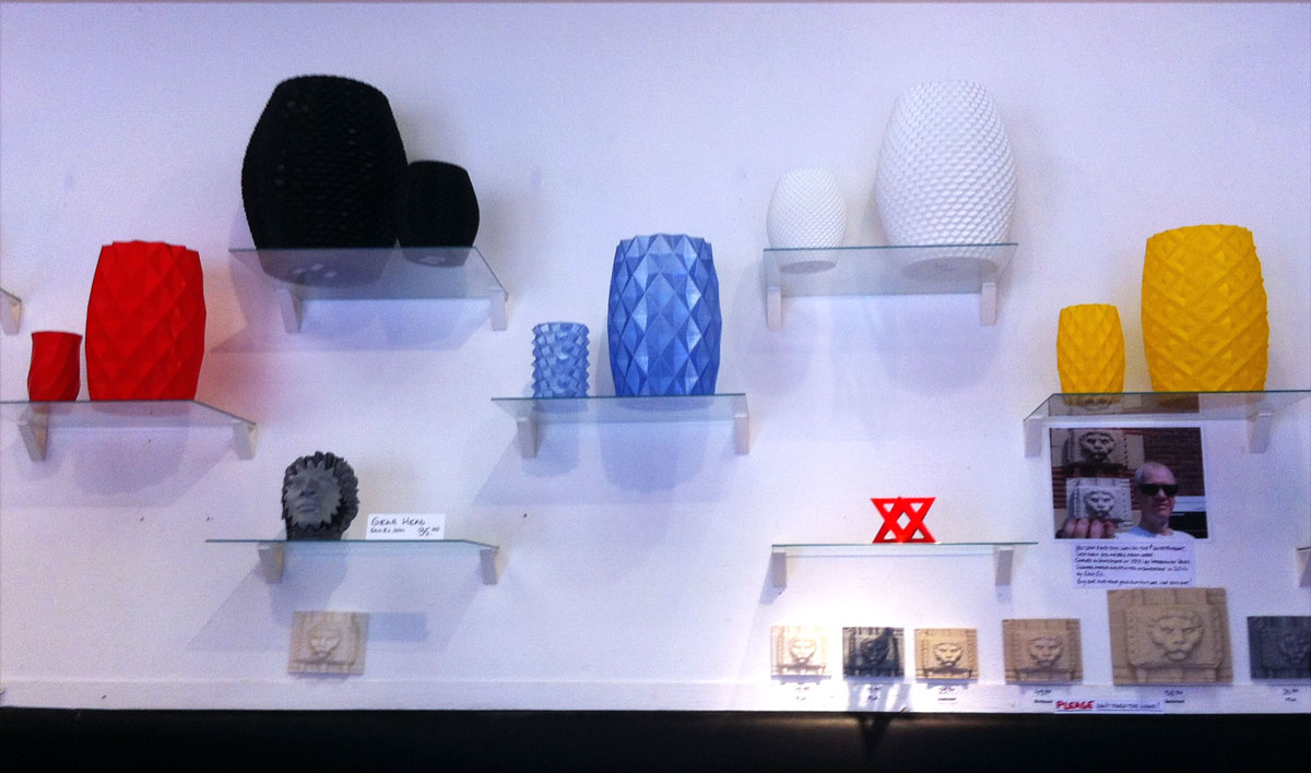 Amsterdam's 'Printed in Space' Shop - 3D Printing Industry