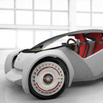 White Strati Local Motors 3D printed car feature image