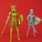 Medieval Barbie With 3D Printed Battle Armor may not be Sold in Stores but She Should Be!