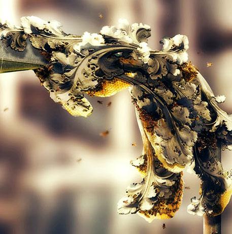 bee lamp 3d printing