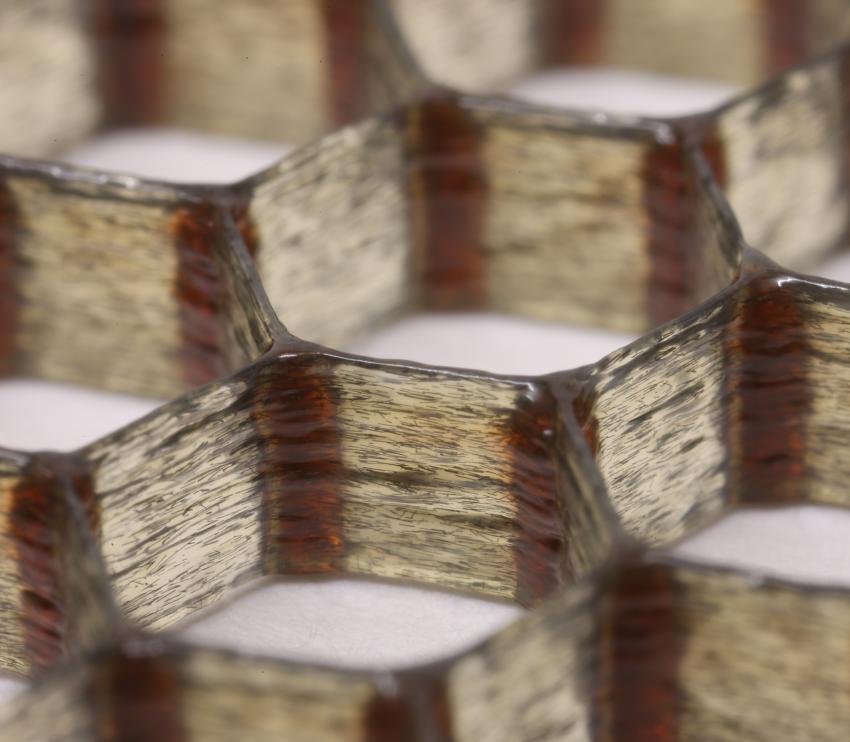 carbonfibere 3d printing honeycomb