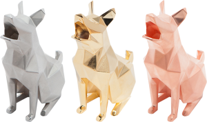 electroplating 3D printed dogs from Printabit via 3D printing industry copy