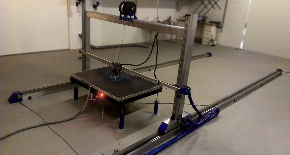 erectorbot full 3d pellet 3d printer