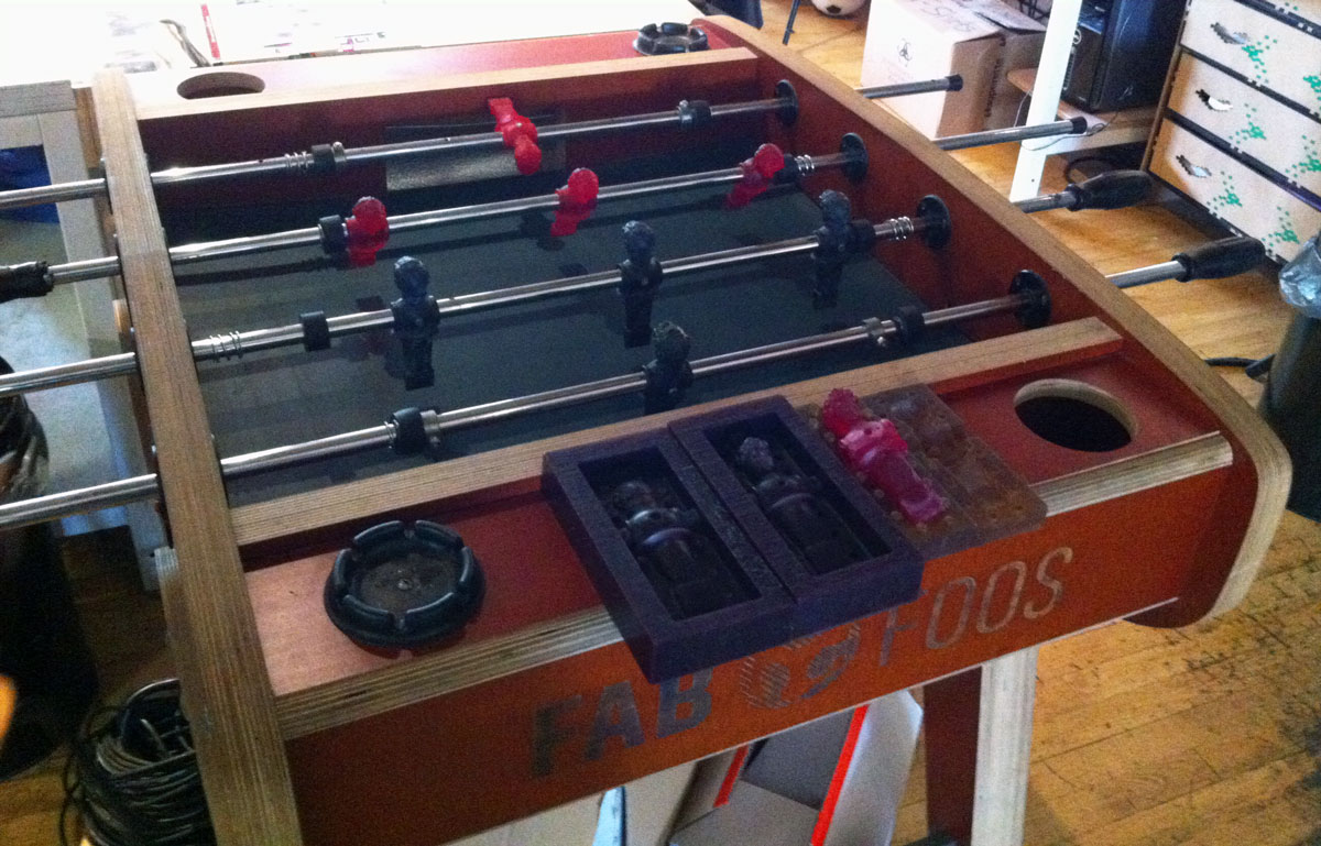 foosball table 3d printing