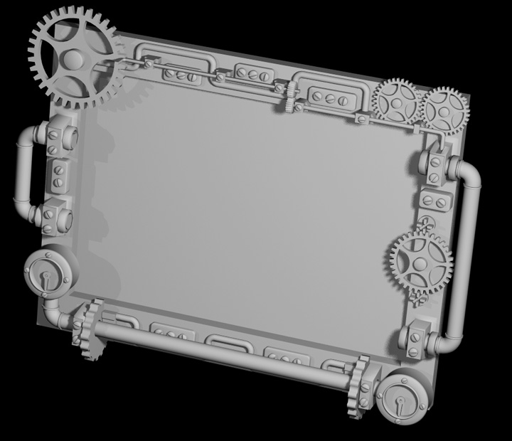 3D Print Your Steampunk Picture Frame