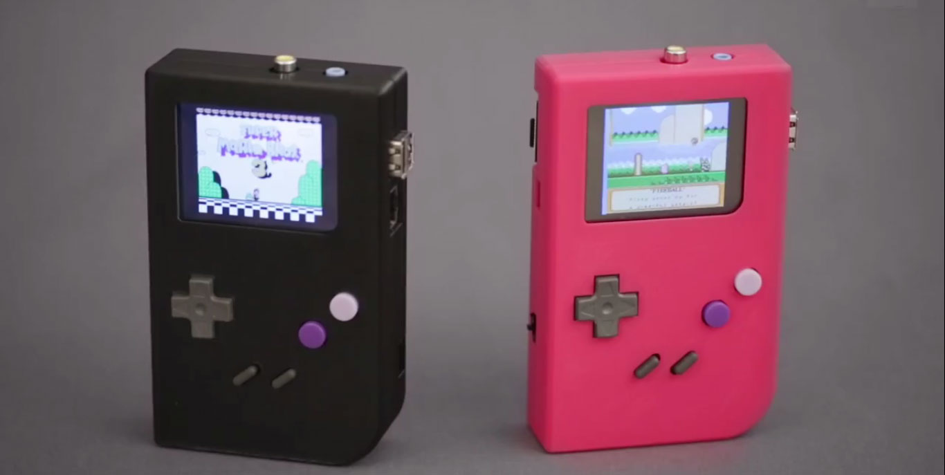 gameboy 3d printing raspberry pi adafruit