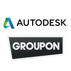 groupon and autodesk logos