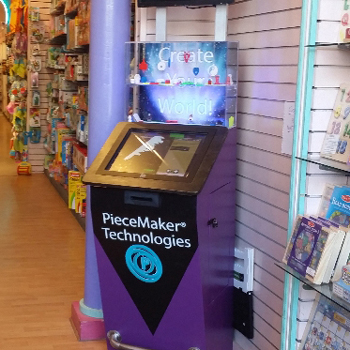 PieceMaker's 3D Printing Kiosk Lands in the Worlds Coolest Toy Store Plaything Etc
