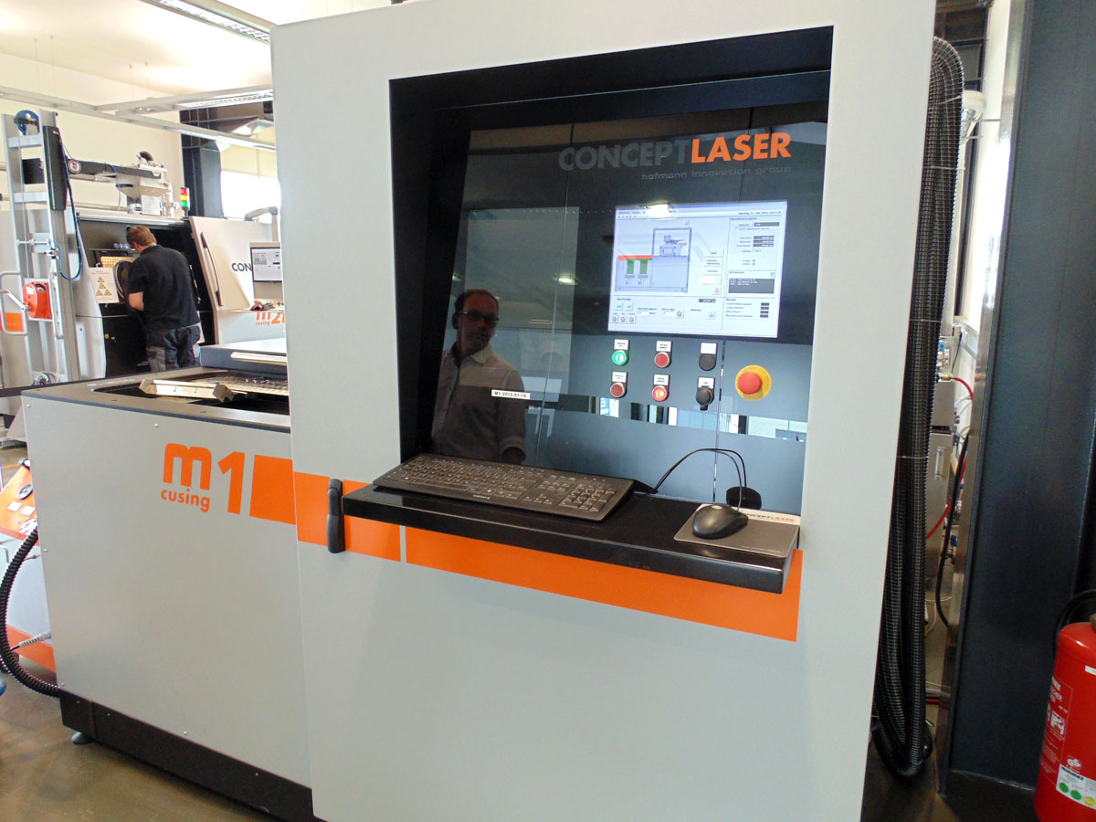 m1 cusing concept laser 3d printing