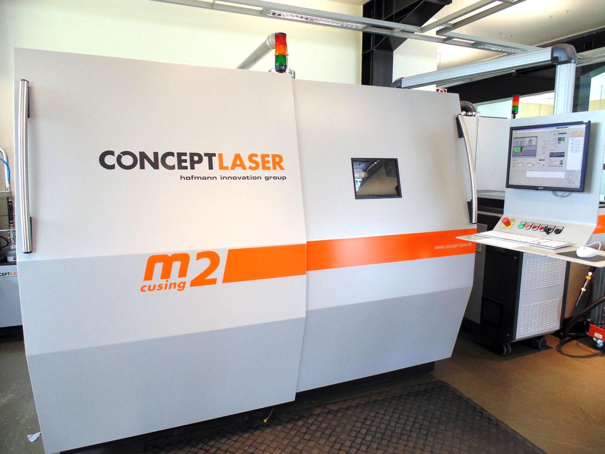m2 cusing concept laser 3d printing
