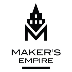maker's empire 3D printing school program logo
