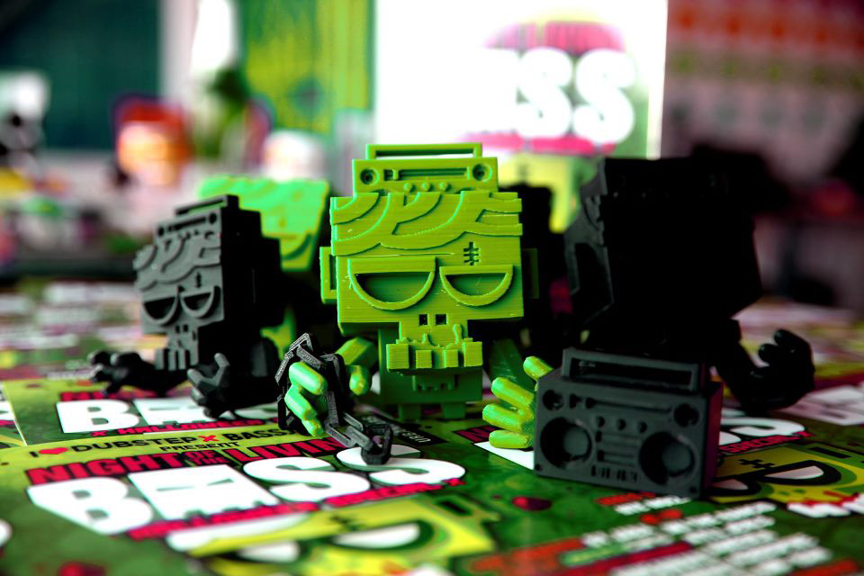 Trobok 3D printed toys from the future
