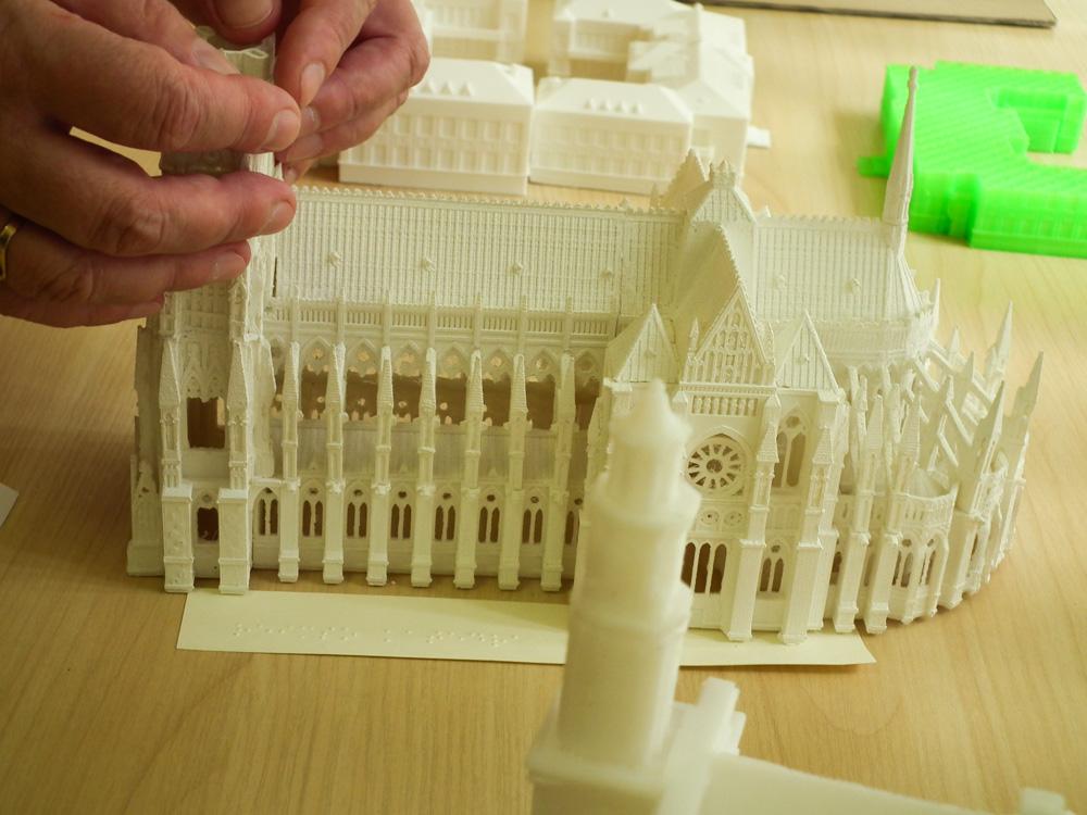 Helping Blind See With 3d Printed Models 3d Printing