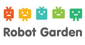 robot garden logo 3d printing