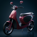 scooter 3d modeled in lagoa