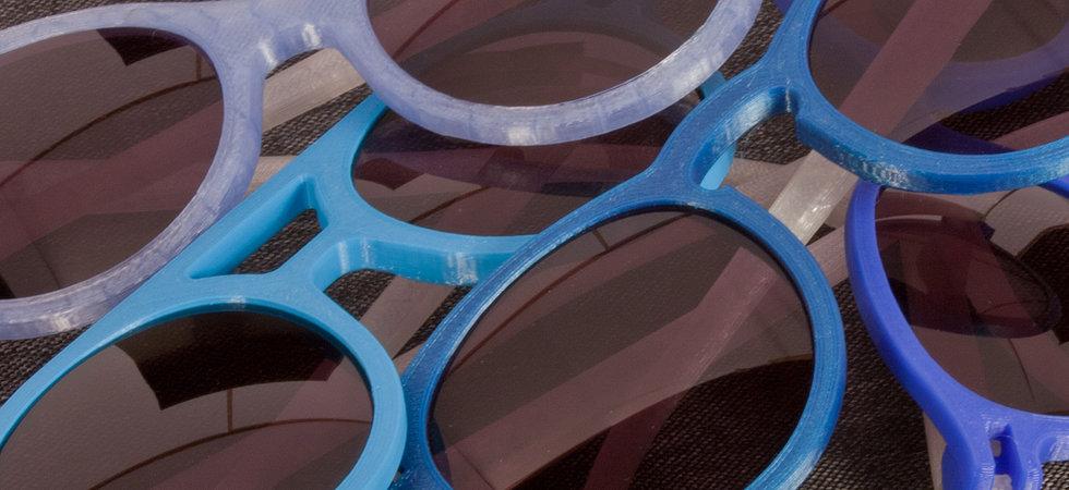 Soda Concept 3D Printing Sunglasses