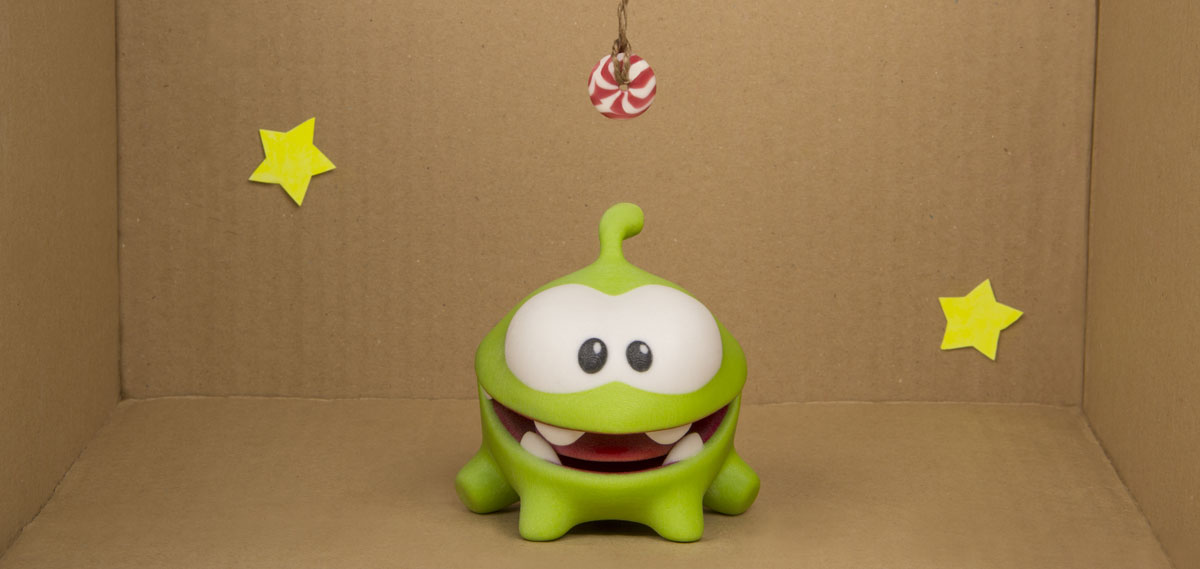 toyze 3d printing cut the rope diorama
