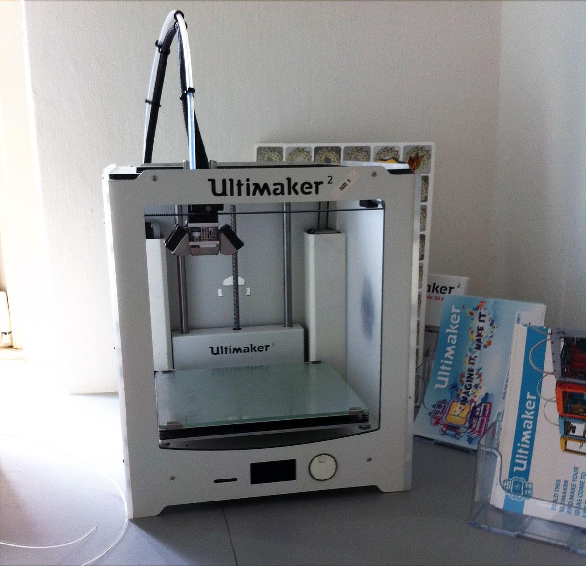 ultimaker 2 number 1 3d printer
