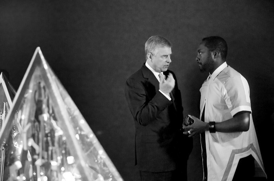 william and duke of york discuss iDEA awards