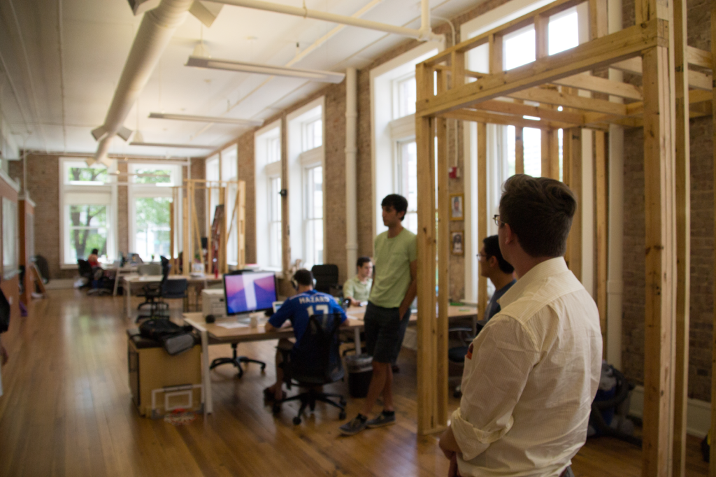 3D Printing Industry visiting the offices of LampPost in Chattanooga