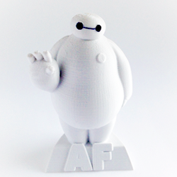 3D printed baymax from Disney's Big Hero 6