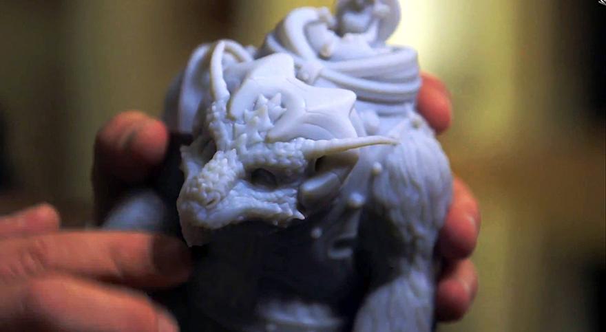 3D printed bodock model stratasys