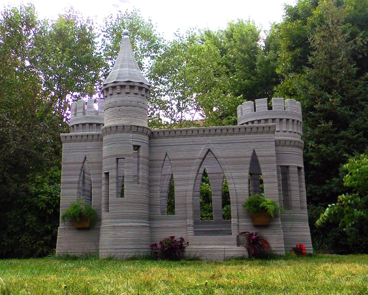 3D printed concrete castle andrey rudenko