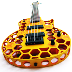 3D printed hive bass by olaf diegel