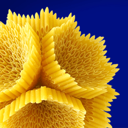 3D printed pasta design contest from barilla and thingarage