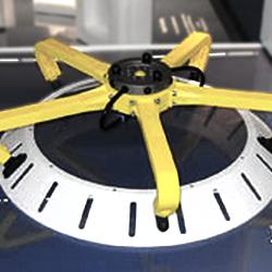 3D printed robotic gripper