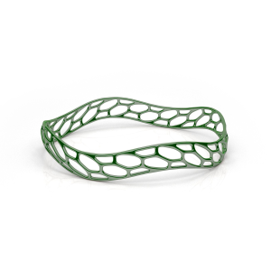 Printed Wavemaker Bracelet Green
