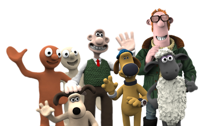 3D printing Aardman video game characters with Things3D