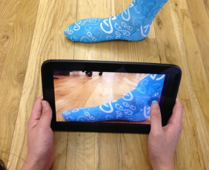 3D scanning feet for 3D printed custom insoles from sols
