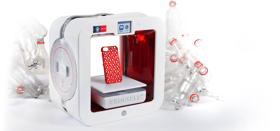 3D systems ekocycle cube 3D printer