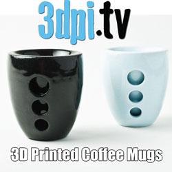3d Printed Coffee Mugs bhold
