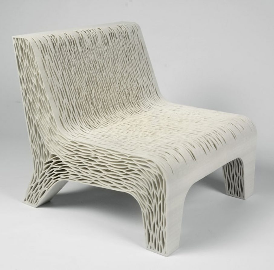 3d printed biomimicry inspired soft seat 3d printing for Furniture 3d printing