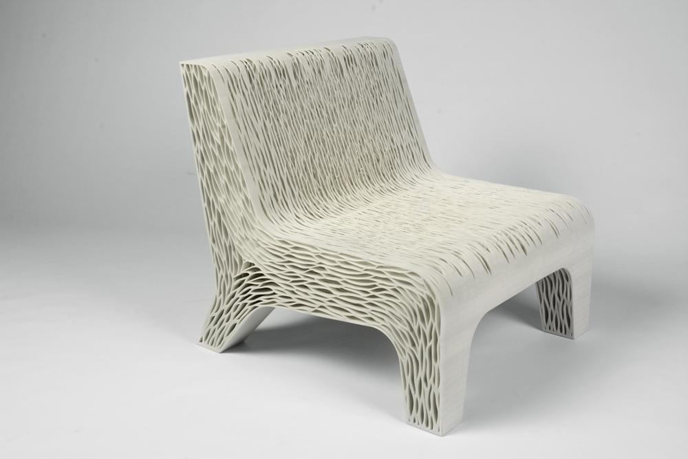 3d printed chair lilian van daal photography by Martin Jansen