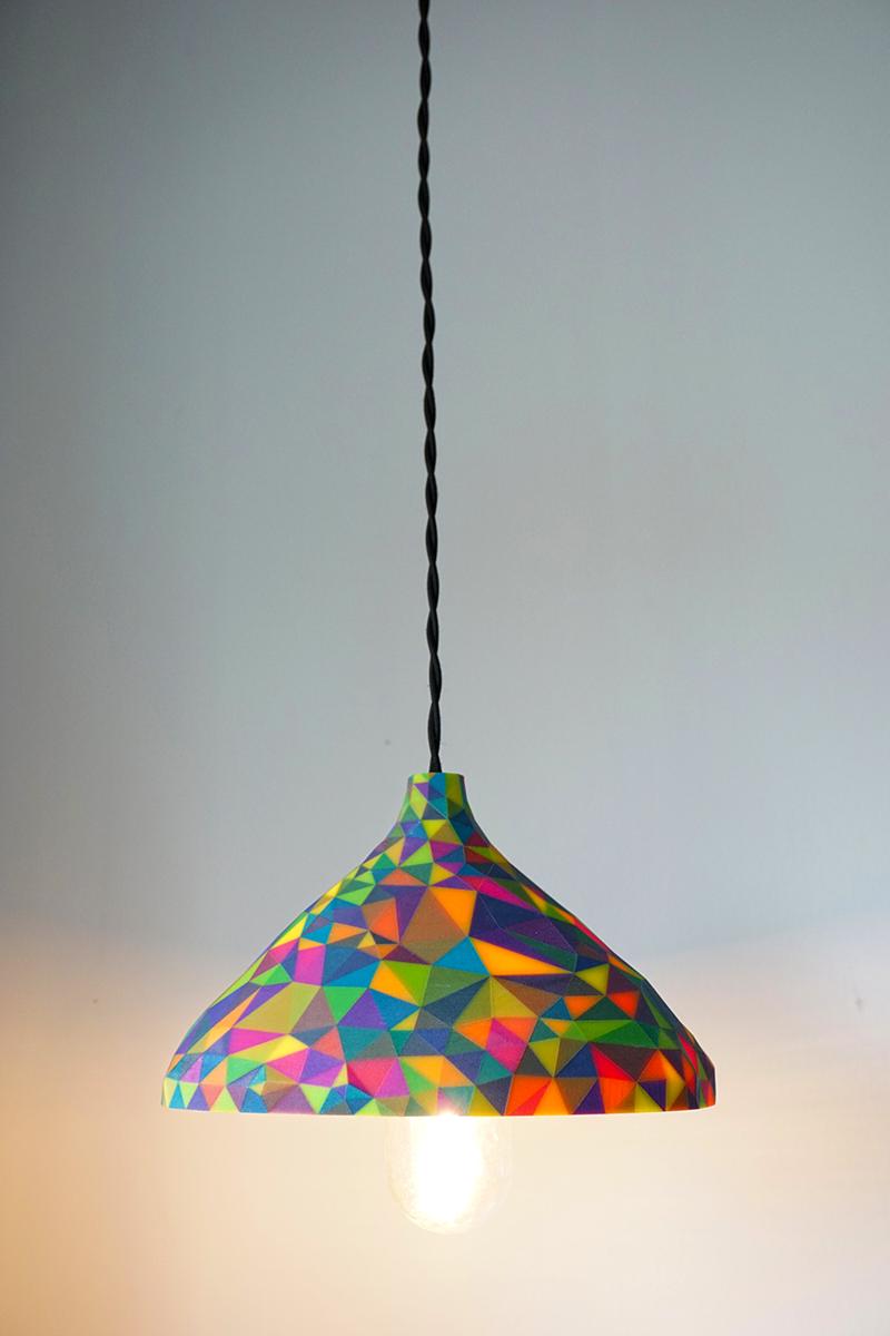 3D Printed Gaudì Inspired Lamp