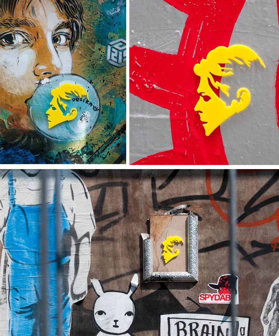 3d printing bowie graffiti