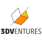 3dventures logo for candy confectionary 3d printer