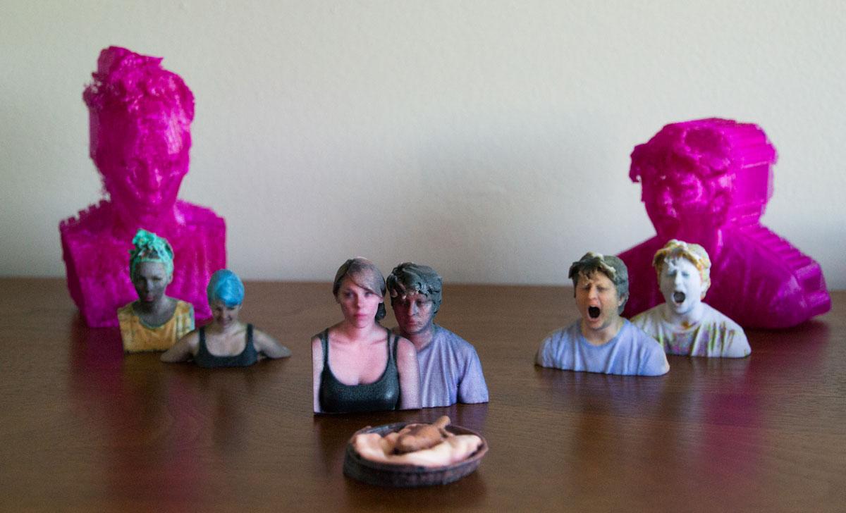 mike danielle 3D printed