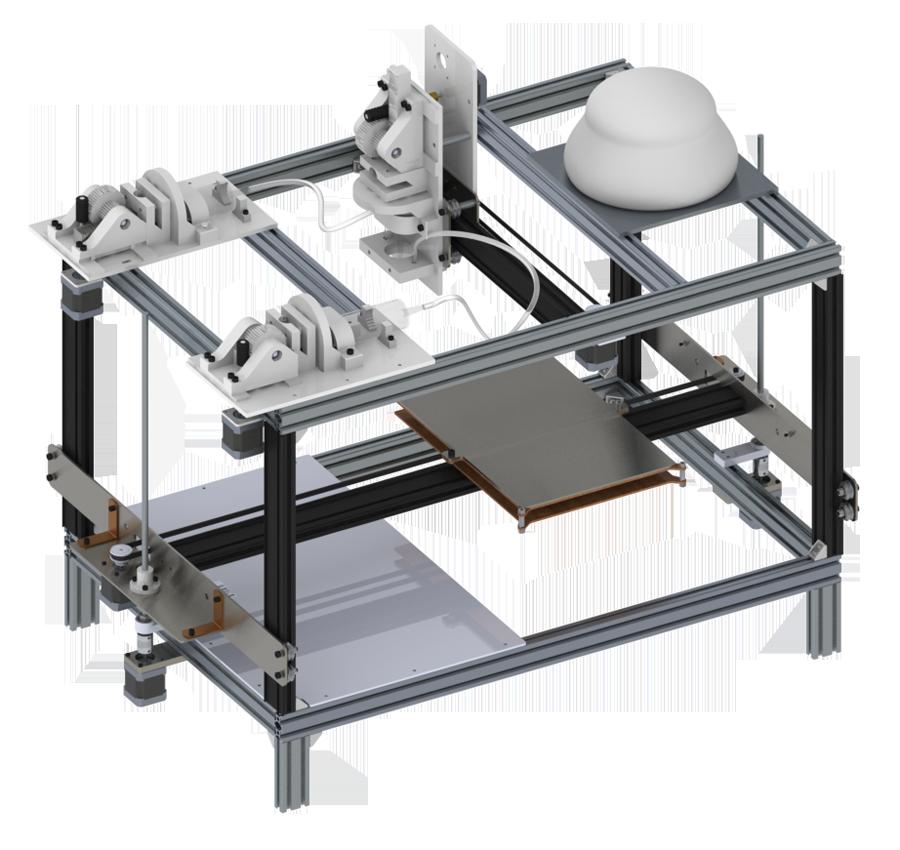 F3D 3D food printer
