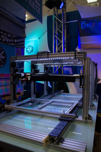 Feetz 3D Printed Shoe Proprietary 3D printer at GIGTANK