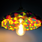 Gaudì Inspired Lamp Is 3D Printed in 46 Colours