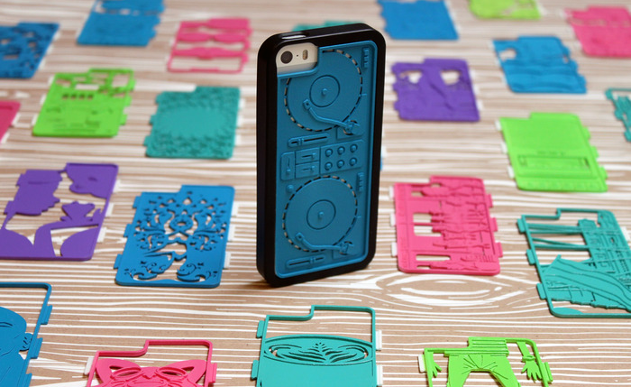 MakerBot-Ready App fraemes 3D printed inserts and bumper