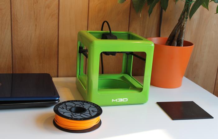 Micro 3D printer on Kickstarter