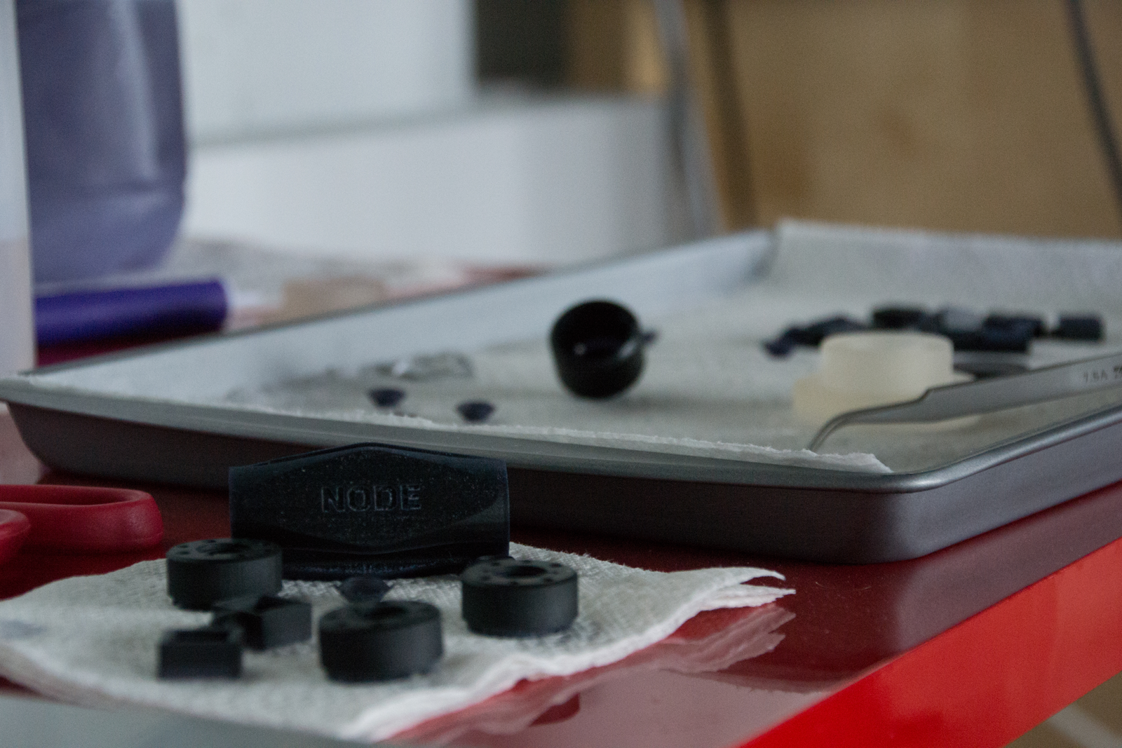 Node 3D printed parts used for prototyping and end production
