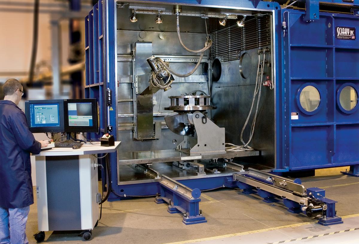 Sciaky's 110 EBAM metal 3D printer